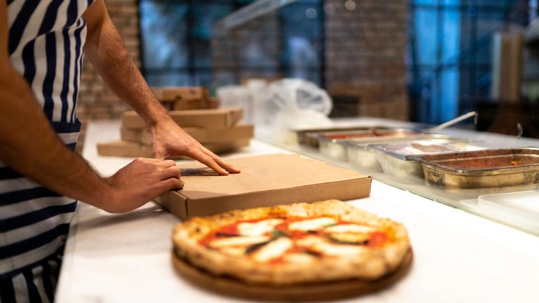 A pizza takeaway was among the establishments fined by a COVID-19 enforcement team in Ilford