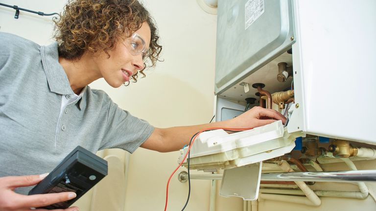 Plumbers, cleaners, electricians and builders can still come into your home to work