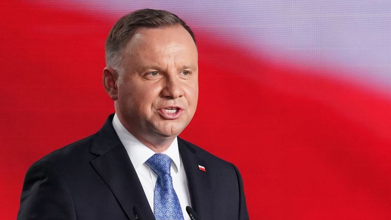 Polish president Andrzej Duda has been diagnosed with COVID-19