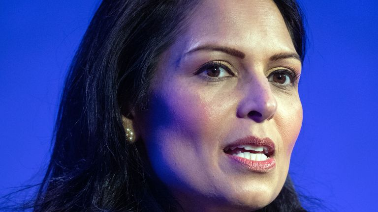 Priti Patel will meet the victims' families