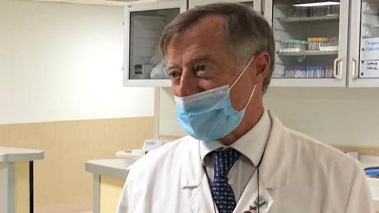 Prof Massimo Andreoni