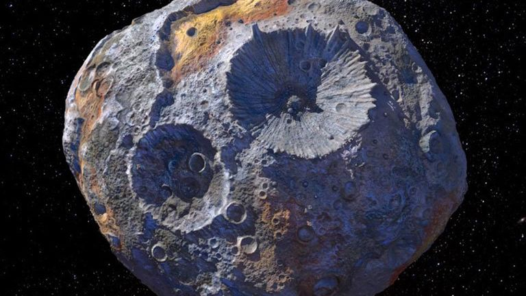 Artist's concept Image credit: Maxar/ASU/P. Rubin/NASA/JPL-Caltech