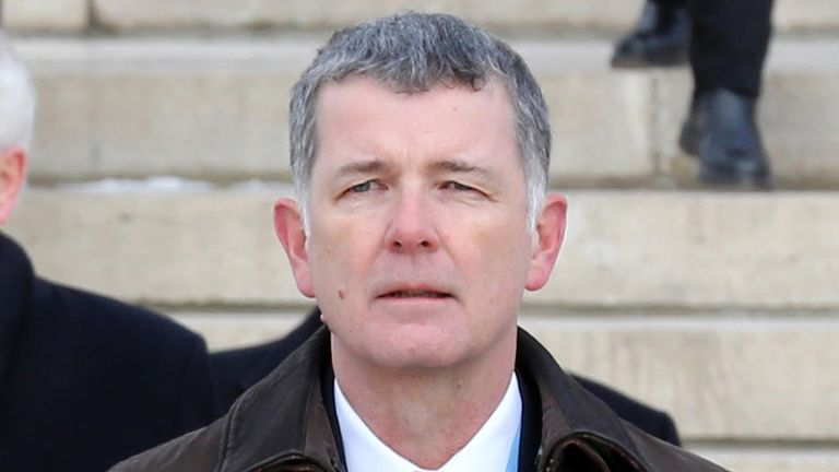 Richard Moore was Britain's ambassador to Turkey between 2014 and 2017