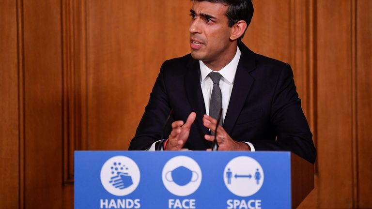 Rishi Sunak has insisted he was talking generally about the need for some workers to 'adapt'