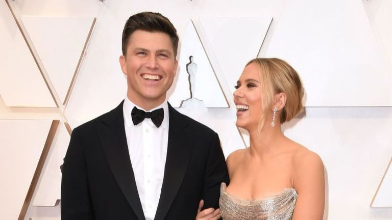 Scarlett Johansson married comedian Colin Jost in a secret 'intimate' ceremony over the weekend