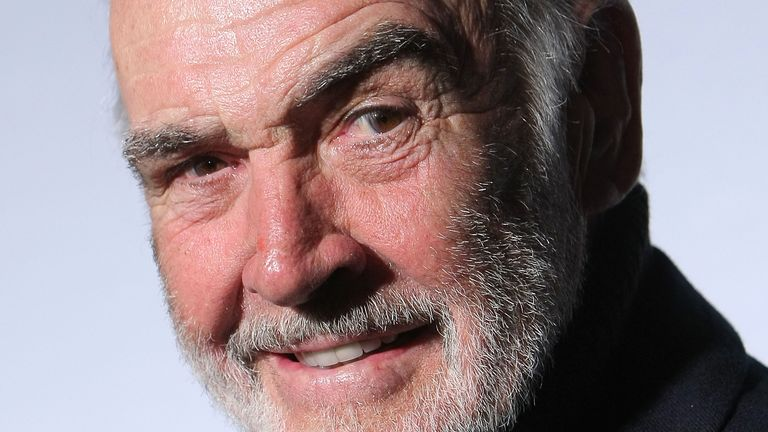 "NEW YORK - MARCH 30: Sir Sean Connery hosts and attends the ""Dressed To Kilt"" charity fashion show benefiting Friends of Scotland at M2 Lounge on March 30, 2009 in New York City. (Photo by Michael Loccisano/Getty Images)"