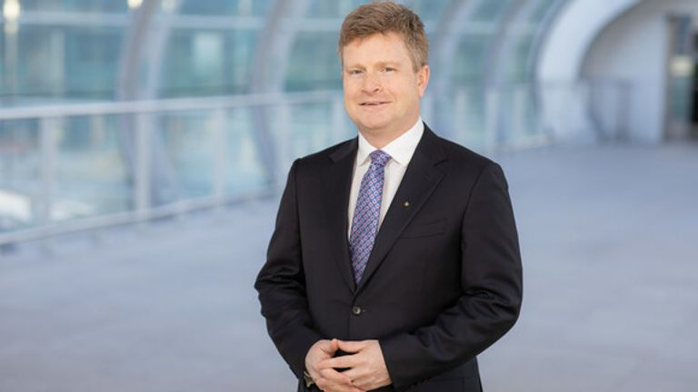 Sean Doyle is the new chief executive of BA. Pic: IAG