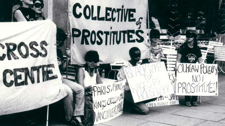The English Collective of Prostitutes was founded in 1975. Pic: Crossroads AV Collective