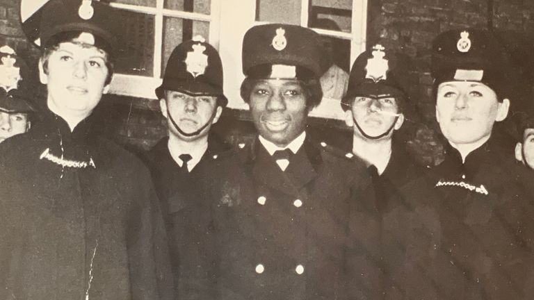 Sislin Fay Allen, Britain's first black policewoman