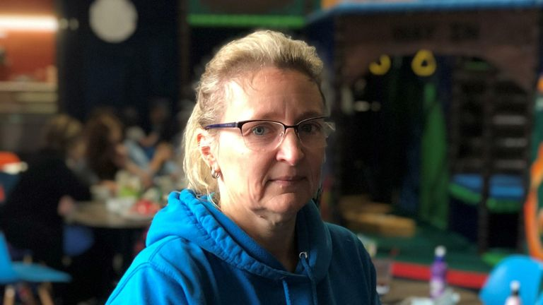 Bev Collier-Nelson soft play owner in Wigan