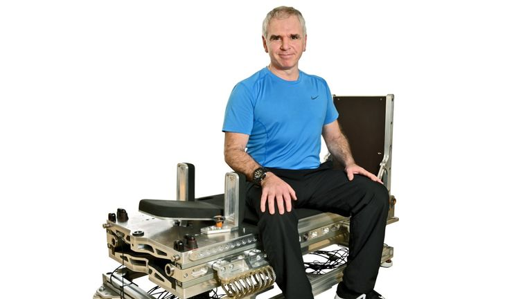 New equipment could cut time needed for astronauts to exercise by 95% with inventor John Kennett