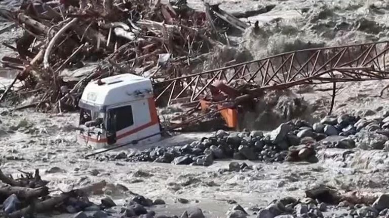 Storm Alex hits France