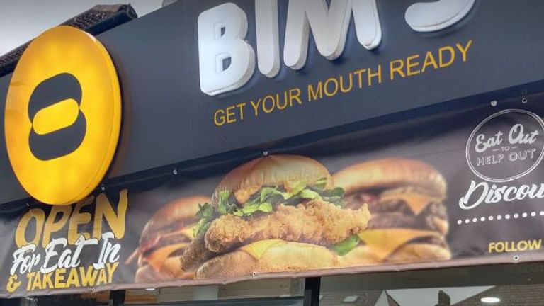 Bim's owners said the order was taken before 10pm but was not served until 10.04pm. Pic: Google Streetview