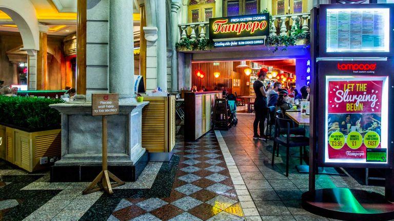 Tampopo restaurant Manchester. : Pic: Tampopo
