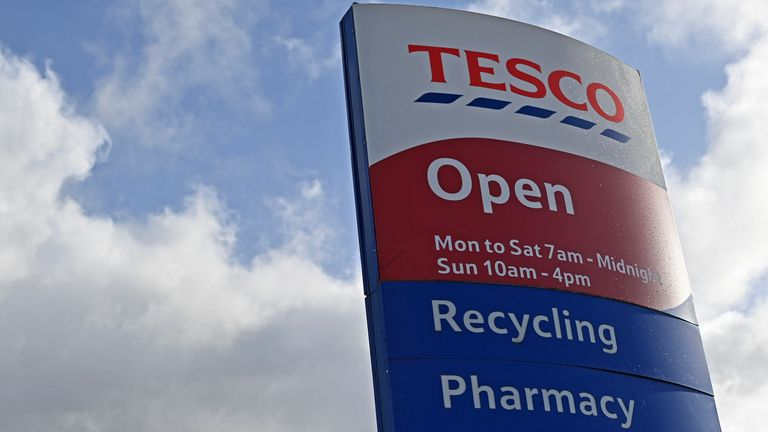 Nigel Wright targeted Tesco stores