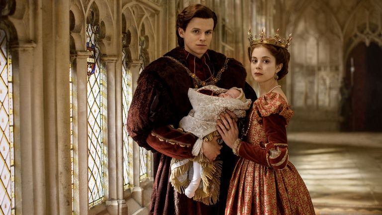 Charlotte Hope in The Spanish Princess. Pic: Lionsgate