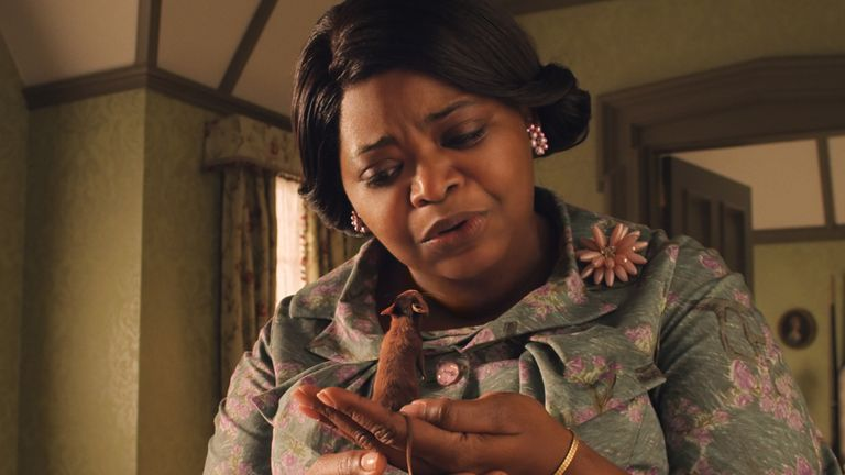 Octavia Spencer as Grandma in Warner Bros Pictures' fantasy adventure The Witches. Pic: © 2020 Warner Bros Entertainment