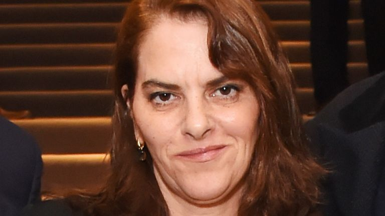 Tracey Emin attends The Auction 2020 at Christie's in aid of Terrence Higgins Trust on March 3, 2020 in London, England