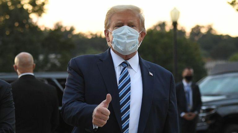President Trump spent tree days in hospital