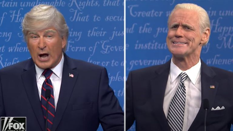 Saturday Night Live US Presidential Debate Spoof