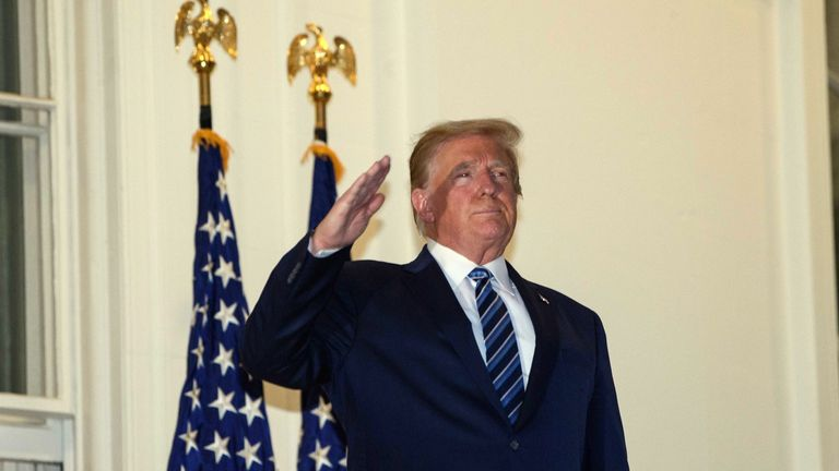 President Trump told Americans not to let coronavirus 'dominate' them