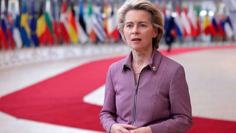 President of the European Commission Ursula von der Leyen