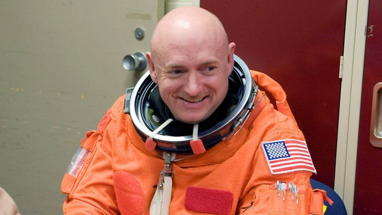 Mark Kelly is a former astronaut running to join the Senate