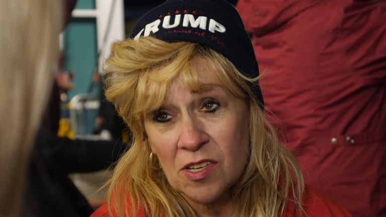 """Trump supporter who says he is """"a voice of people"""""""