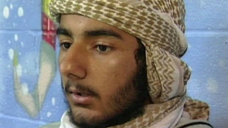 Usman Khan, seen in 2008, stabbed two people to death near London Bridge i November