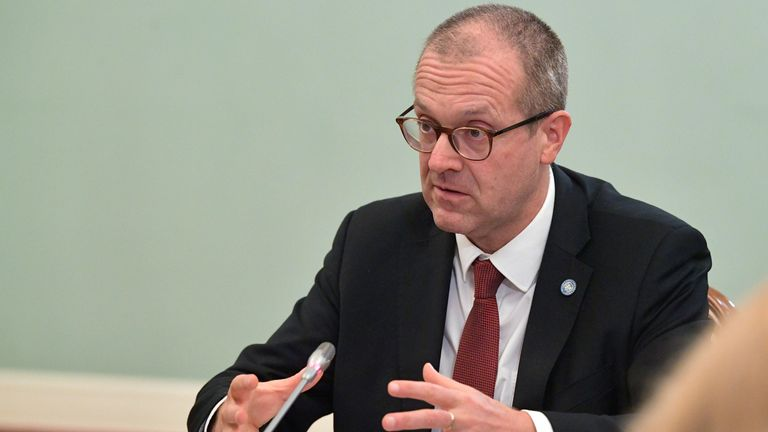 Dr Hans Kluge, Europe's regional director for WHO