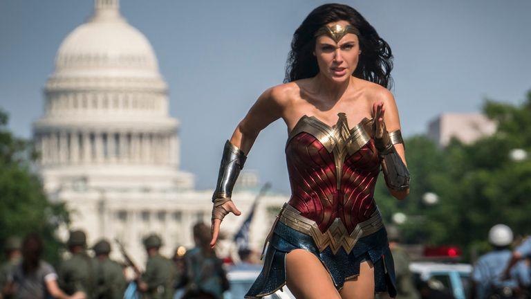 Gal Gadot is a woman in demand, back again as Wonder Woman. Pic: Warner Bros