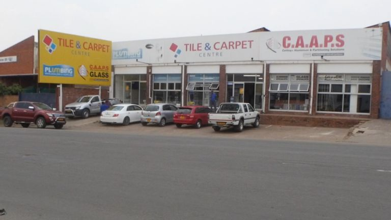 Mr Muchehiwa says he was abducted outside a local hardware shop