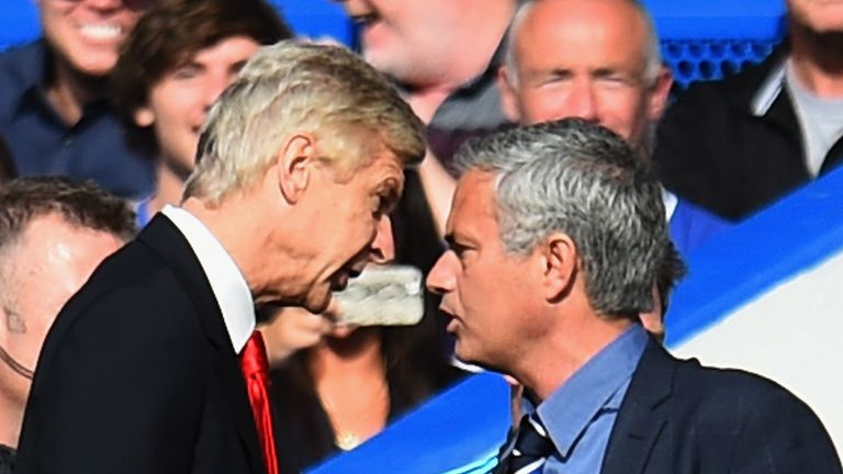 Tottenham head coach Jose Mourinho explains why he has not made it in to Arsene Wenger's latest book