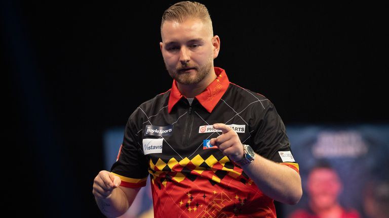 Dimitri Van den Bergh is hoping to add the World Grand Prix to the World Matchplay title he won just a couple of months ago