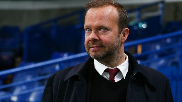 LONDON, ENGLAND - FEBRUARY 17: Ed Woodward executive vice-chairman of Manchester United is seen the leaving the ground after the Premier League match between Chelsea FC and Manchester United at Stamford Bridge on February 17, 2020 in London, United Kingdom. (Photo by Craig Mercer/MB Media/Getty Images)