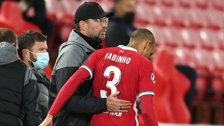 Jurgen Klopp says his Liverpool team must stick together for good and for bad after losing Fabinho to injury in their Champions League win over FC Midtjylland.