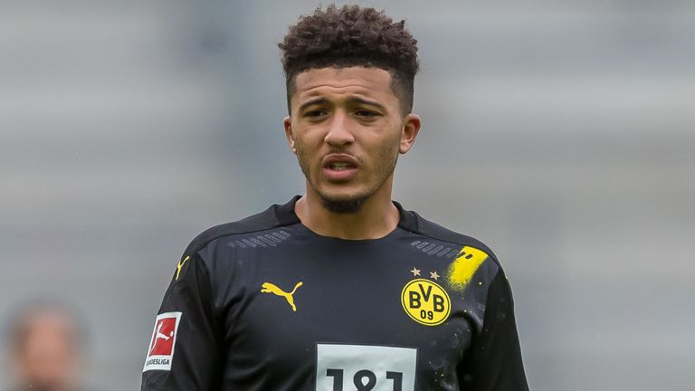Sky Sports News reporter Gary Cotterill has the latest from Borussia Dortmund, where players and fans expect Jadon Sancho to remain with the club beyond Deadline Day