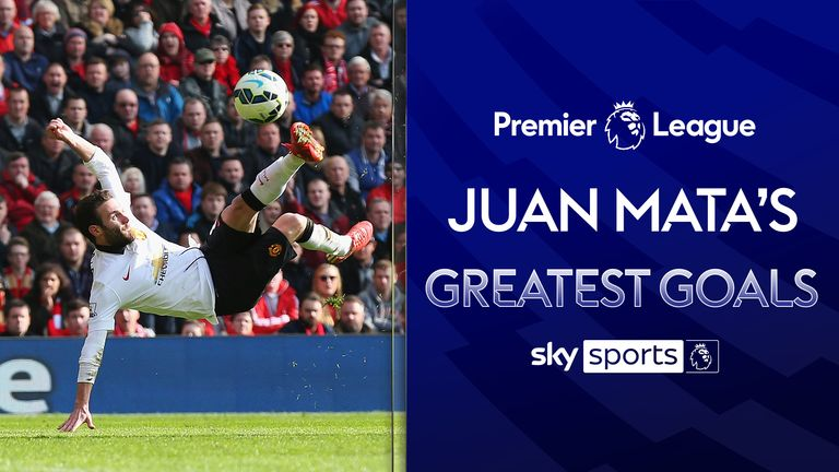 Ahead of Manchester United's match against Chelsea, we look at current Man Utd & former Blues playmaker Juan Mata's greatest goals in the Premier League