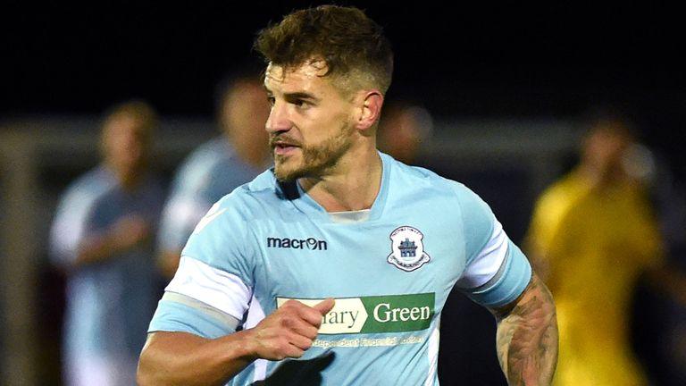 Matt Morton, Thetford Town FC (pic credit: Bury Free Press)