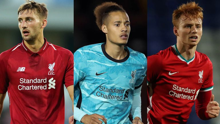 Nathaniel Phillips, Rhys Williams and Sepp van den Berg could be centre-back options for Liverpool in the absence of Virgil van Dijk