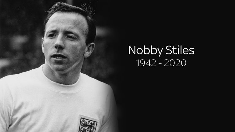 England World Cup winner Nobby Stiles dies aged 78