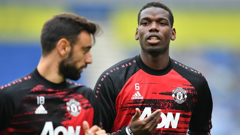 Can Bruno Fernandes and Paul Pogba play together in Man Utd's midfield?