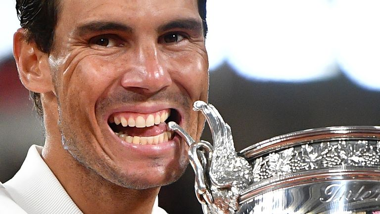 Nadal says 'it means a lot' to equal Federer's record