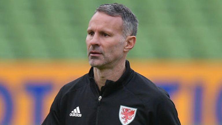 Wales head coach Ryan Giggs