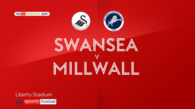 Highlights from the Sky Bet Championship as Swansea City faced Millwall