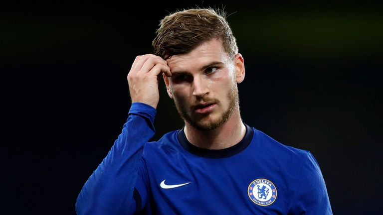 Timo Werner - and Chelsea - endured a frustrating night in front of goal despite a welcome clean sheet