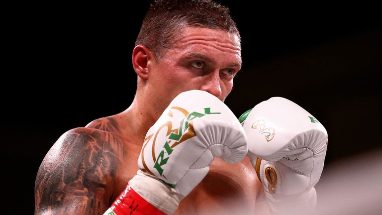 Usyk vs Chisora: Oleksandr Usyk's last recorded loss is shrouded in mystery as even his opponent fiercely denies a knockout win   Boxing News