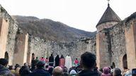 Dadivank monastery  will pass into Azerbaijani hands on Wednesday