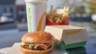 LA-based company Beyond Meat say they teamed up with McDonald's to co-create the new line's vegan patty
