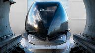 Virgin Hyperloop has trialled its first journey with passengers in Nevada. Pics: Virgin Hyperloop